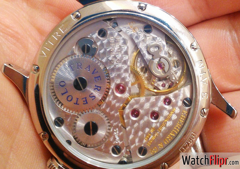 Eberhard Traversetolo Unitas Manual Movement