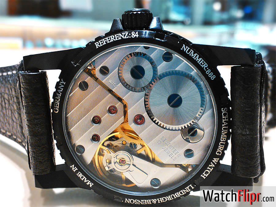 Unitas Movement in a Schaumburg Watch