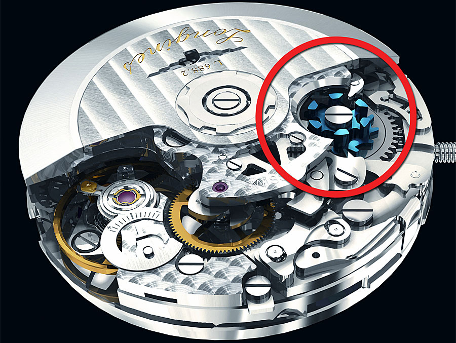 Longines Caliber L688.2 Column Wheel Chronograph Movement