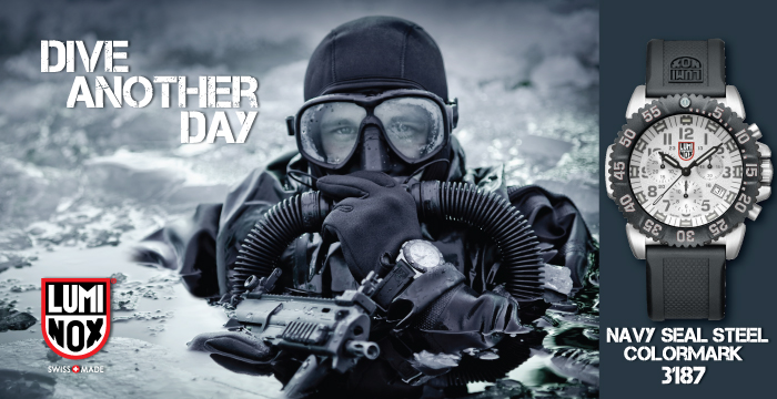 "Luminox ""Dive Another Day"" Navy SEALs Ad"