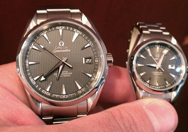Omega Seamaster Aqua Terra Mens and Ladies Matching Set