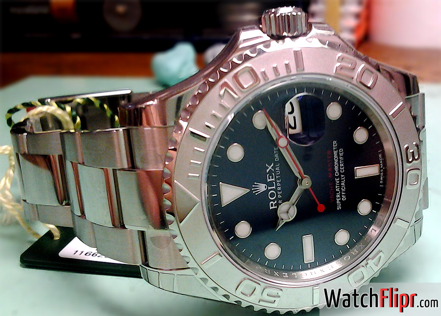 116622 Rolex Blue Dial Yachtmaster