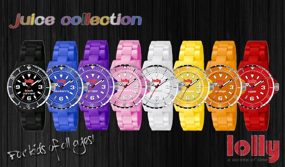 Lolly Watch Eco Friendly Scented Watch