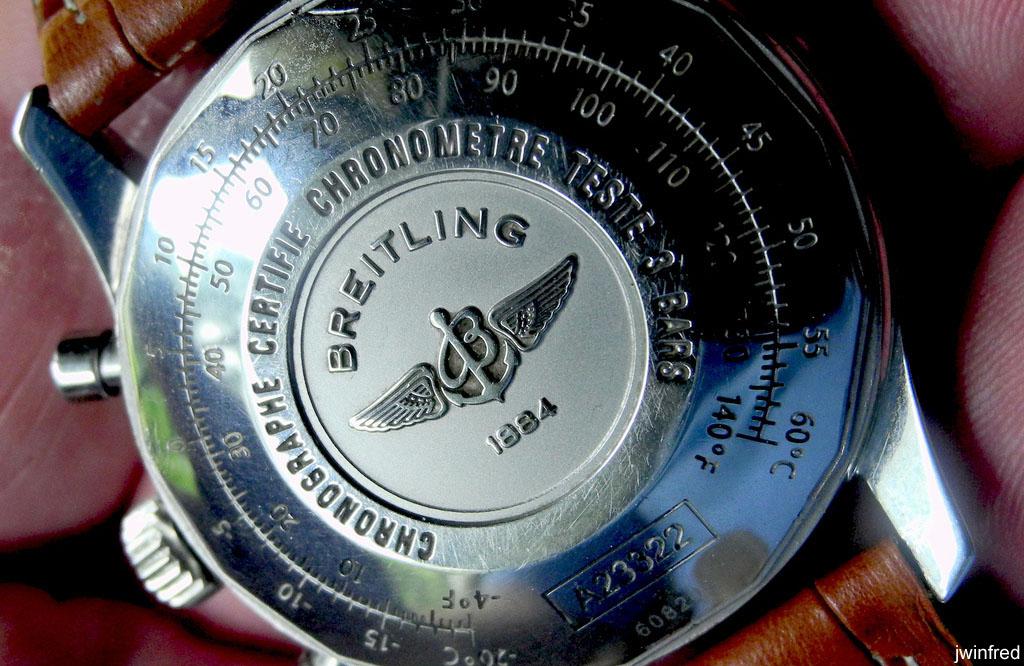 Breitling Chronometer COSC Caseback