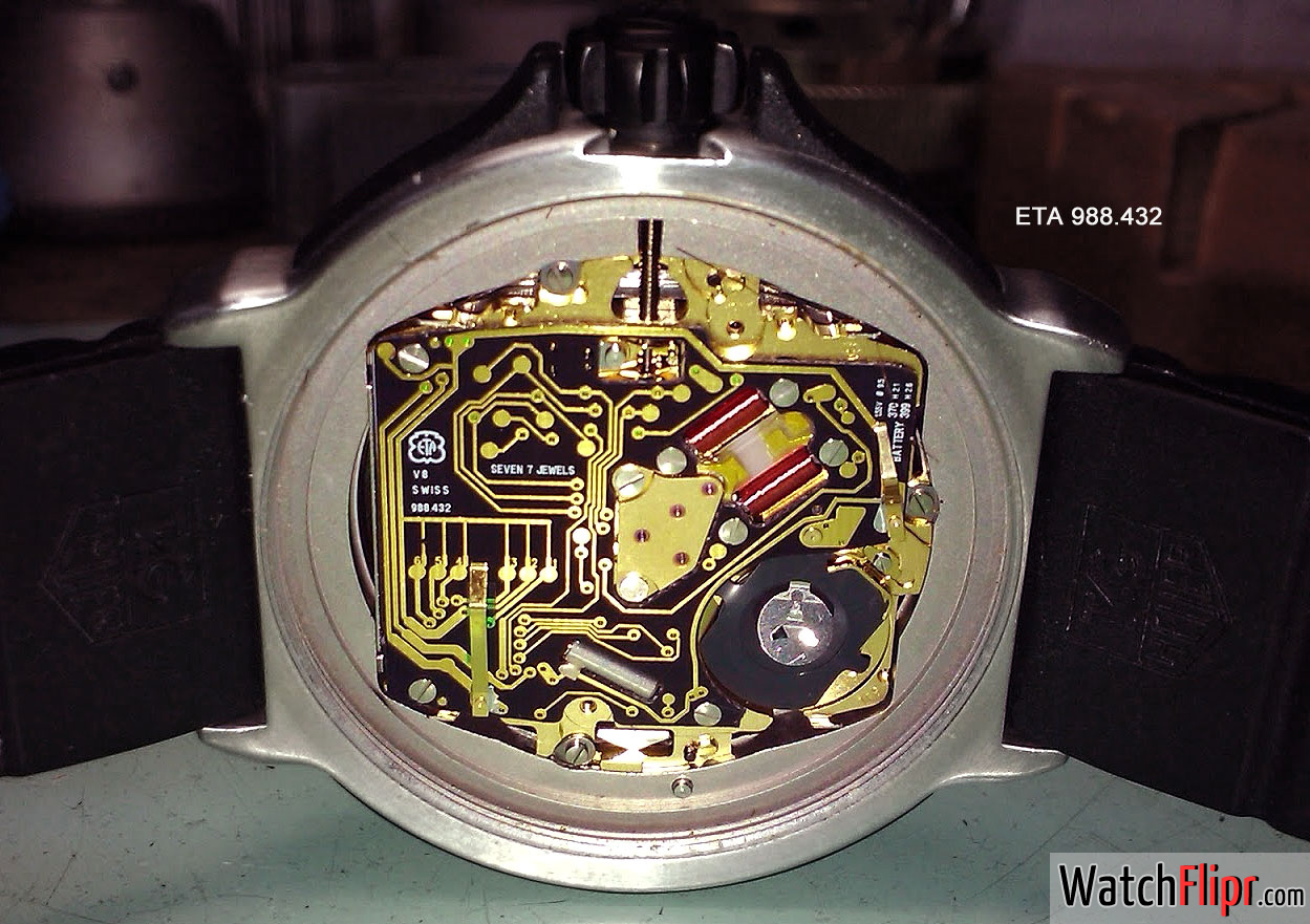 ETA 988.432 Quartz Movement