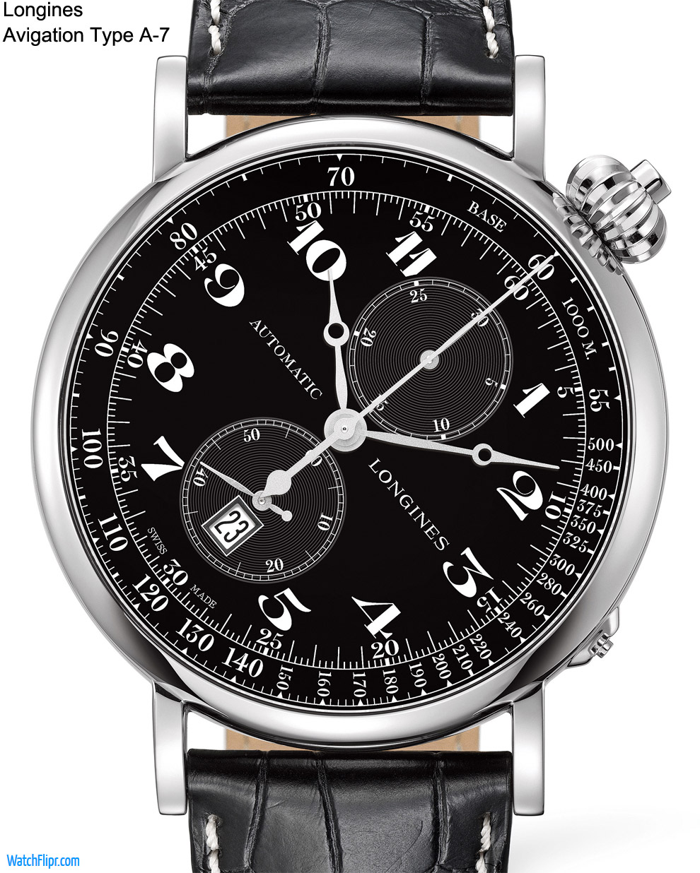 The New Longines Avigation Watch Type A-7 for 2012 - 180 Years Anniversary!