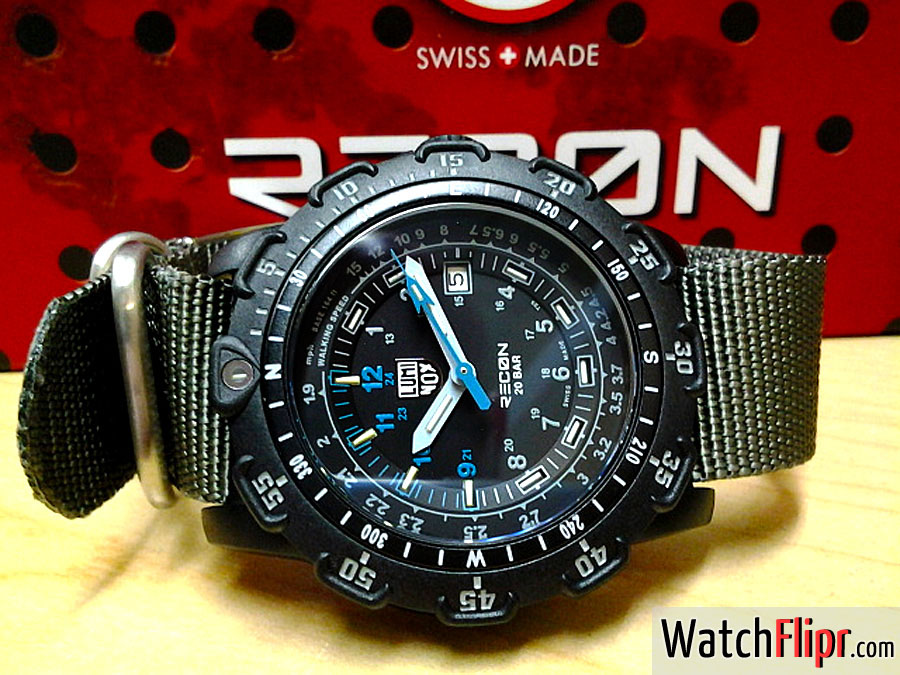 Luminox Point Man Recon Watch Blue
