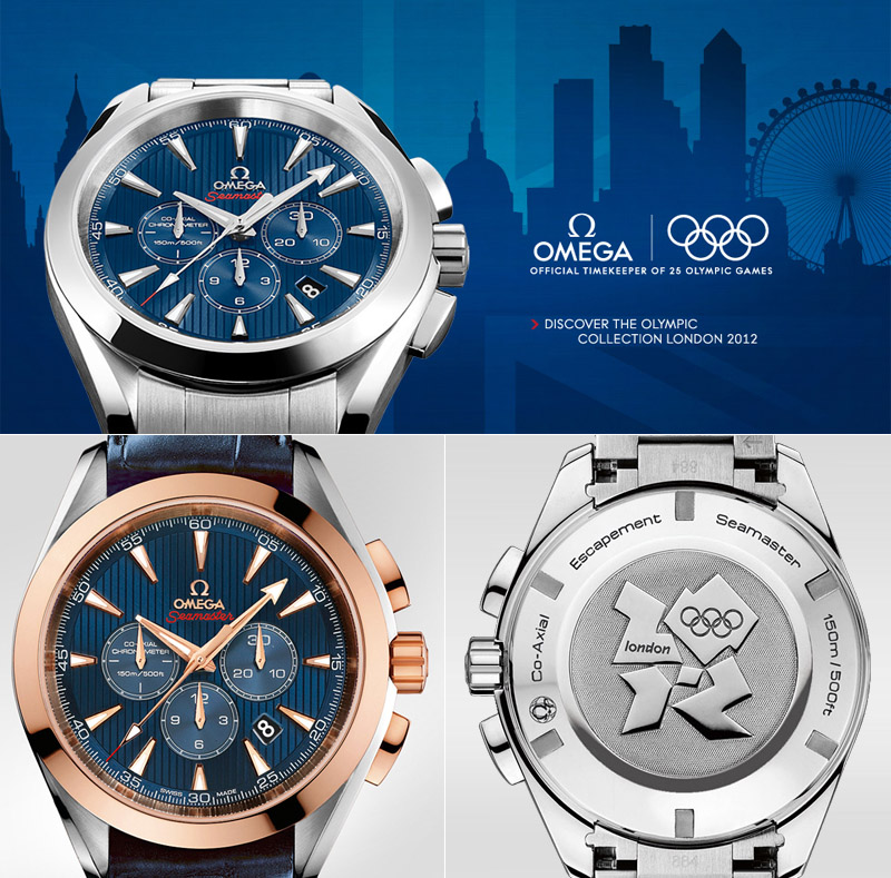 Omega London Olympics 2012