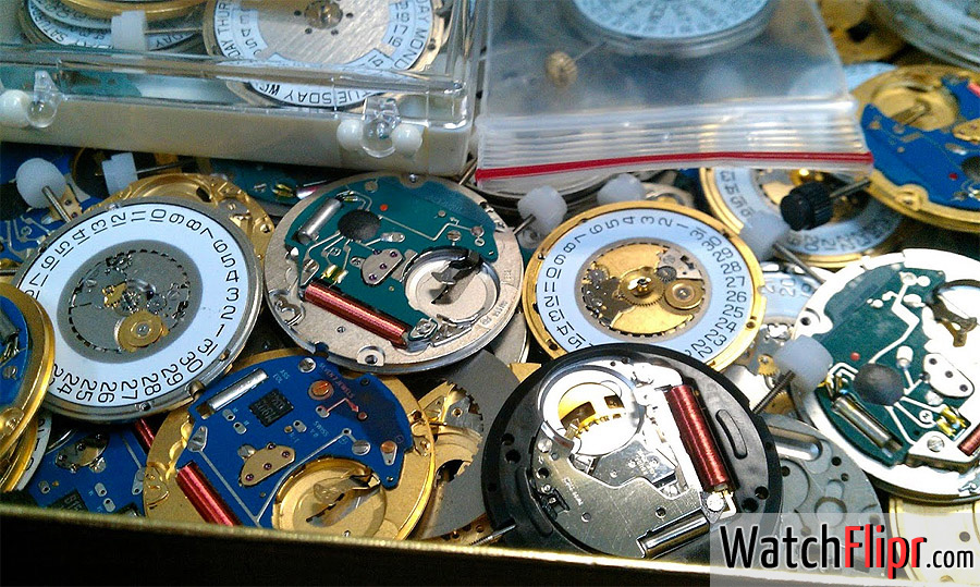 Quartz Watch Movements