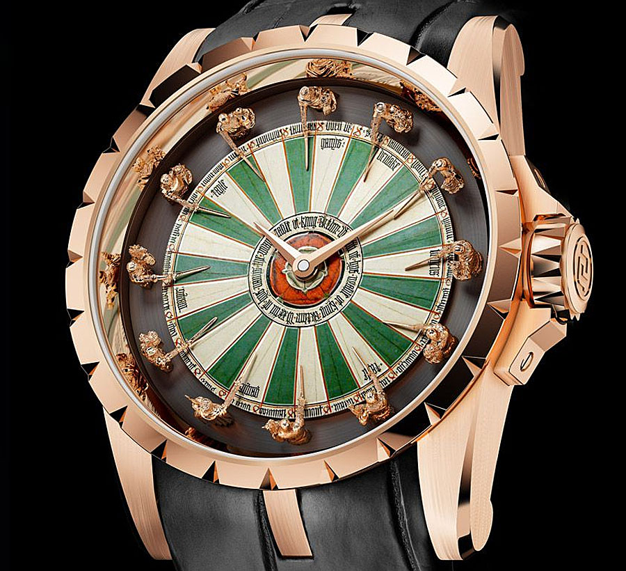 Roger dubuis knights of the round table watch flipr for 12 knight of the round table