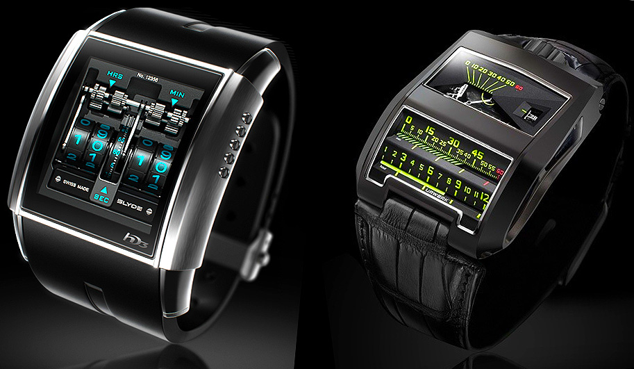 Slyde Vs. Urwerk Watches: tech Vs. Mechanical