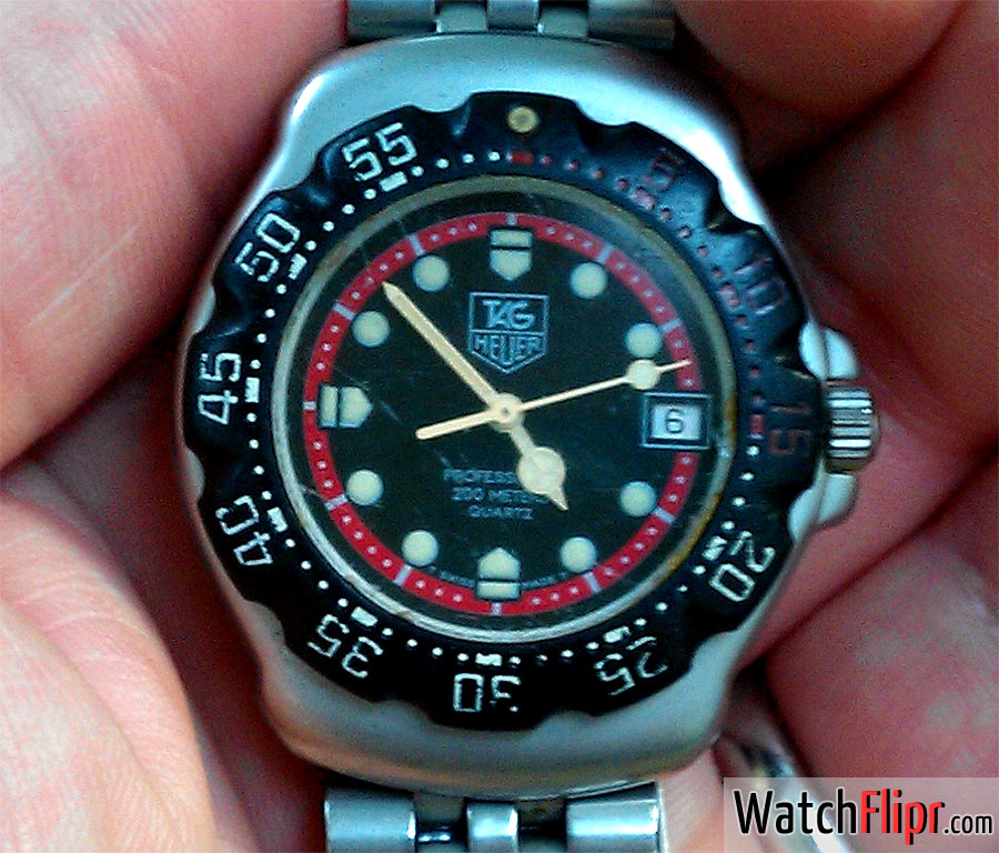 Tag Heuer F1 Formula One Vintage 200m Quartz Watch