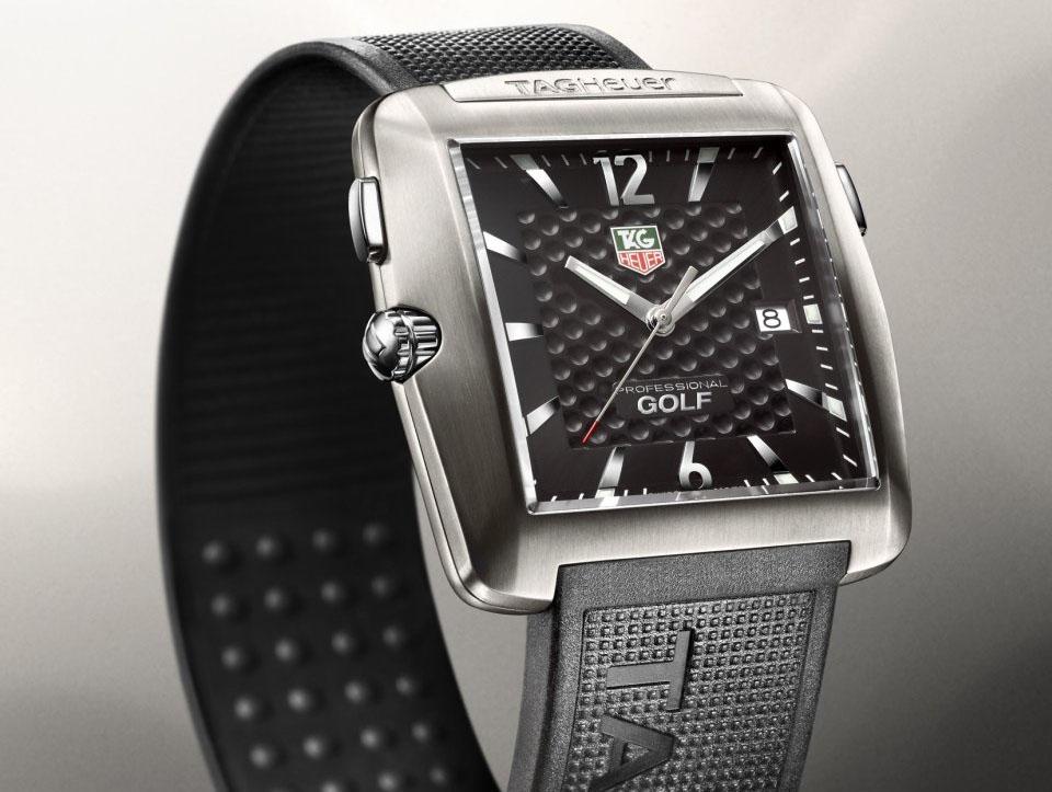 TAG Heuer Professional Tiger Woods Golf Watch WAE1111