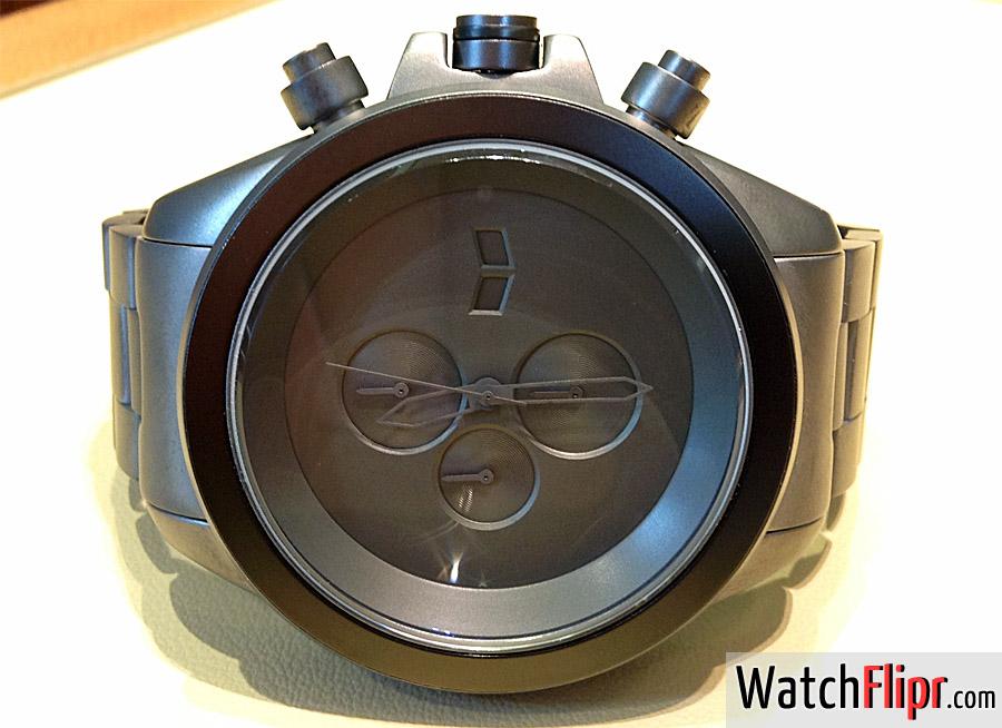 Vestal ZR3014 Minimalist XL Gunmetal Chronograph