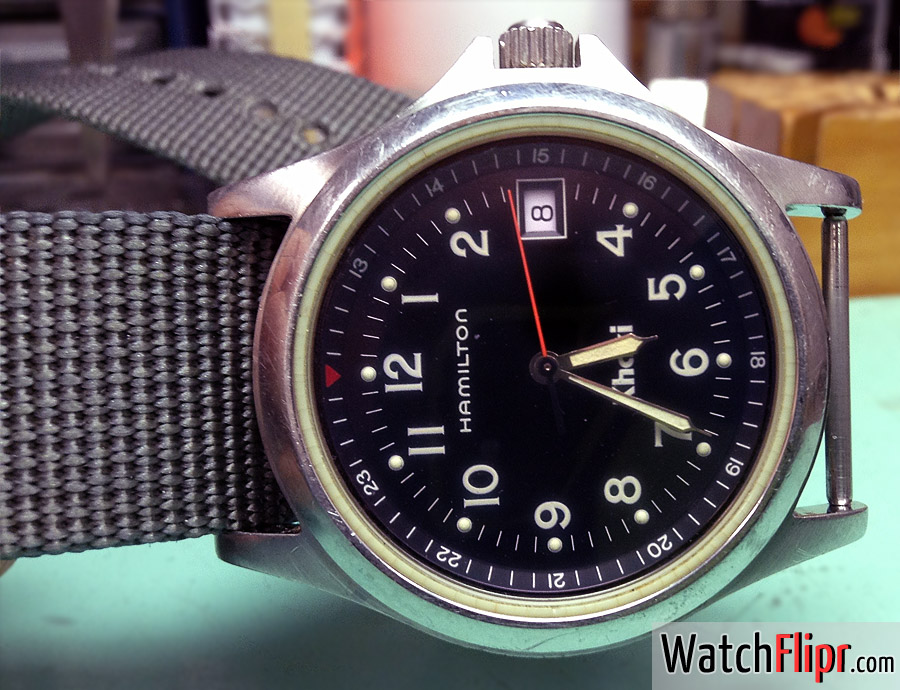Hamilton Khaki 8775 Quartz Vintage Watch