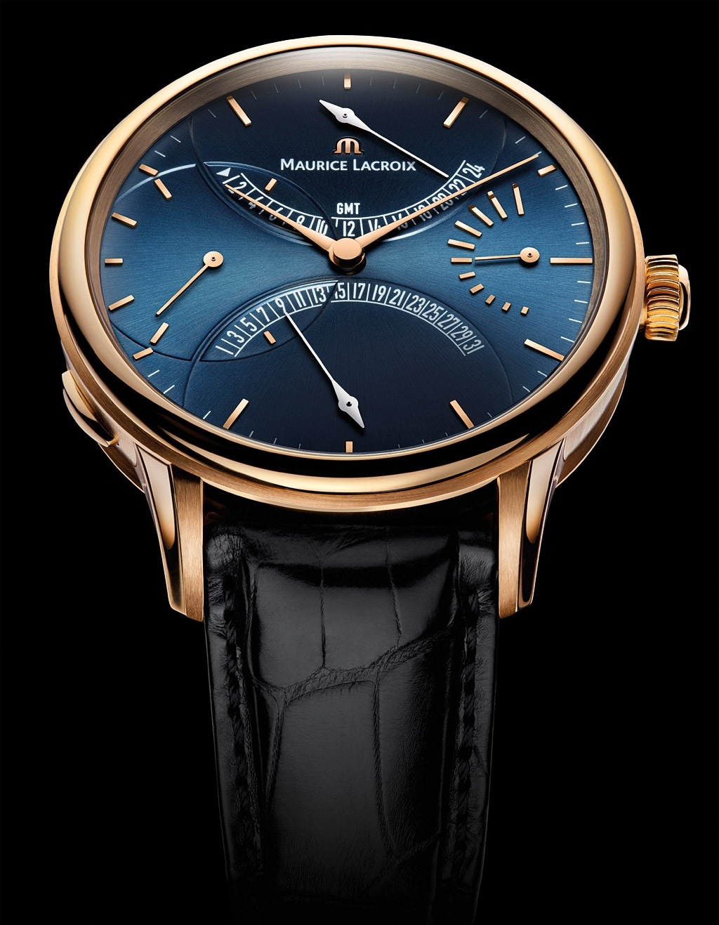 Maurice Lacroix Masterpiece Double Retrograde Edition Limitee (Ref. MP6519-PG101-430)
