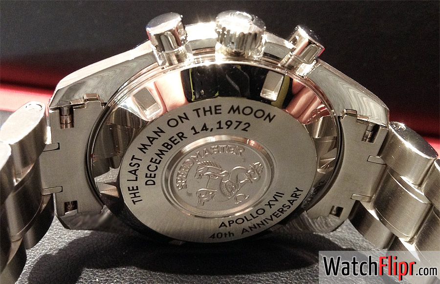 """""""Apollo XVII"""" 40th anniversary Limited Edition (311.30.42.30.99.002) Caseback"""