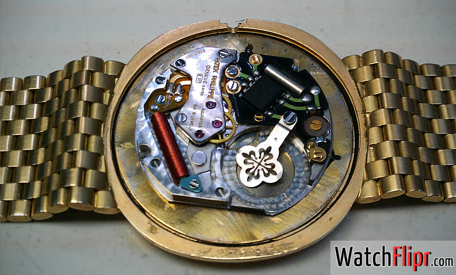 Patek Philippe Watch with a Quartz Movement