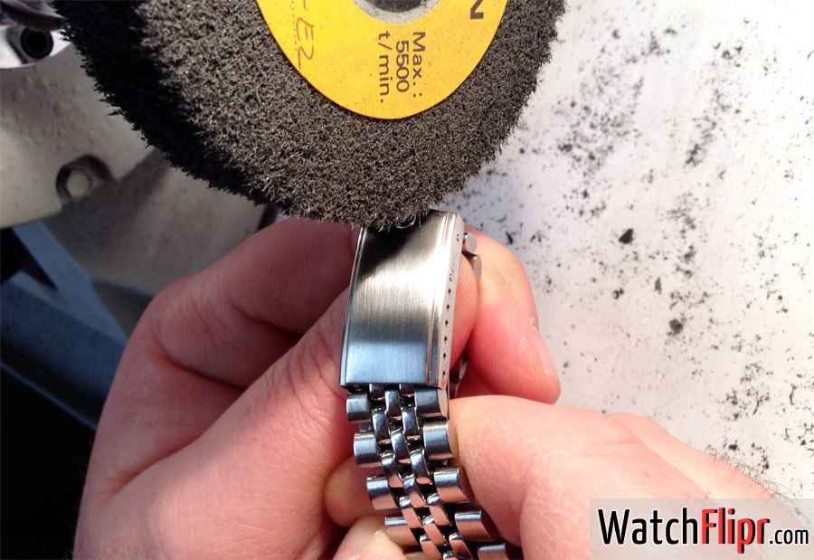 A quick brush and polish can add hundreds to the value of your watch