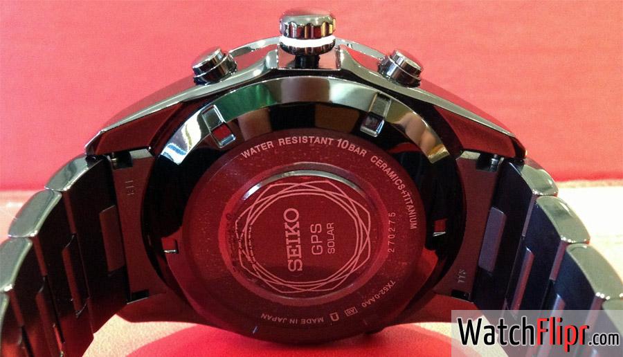 Seiko Astron 7X52-0AA0 Ceramic GPS