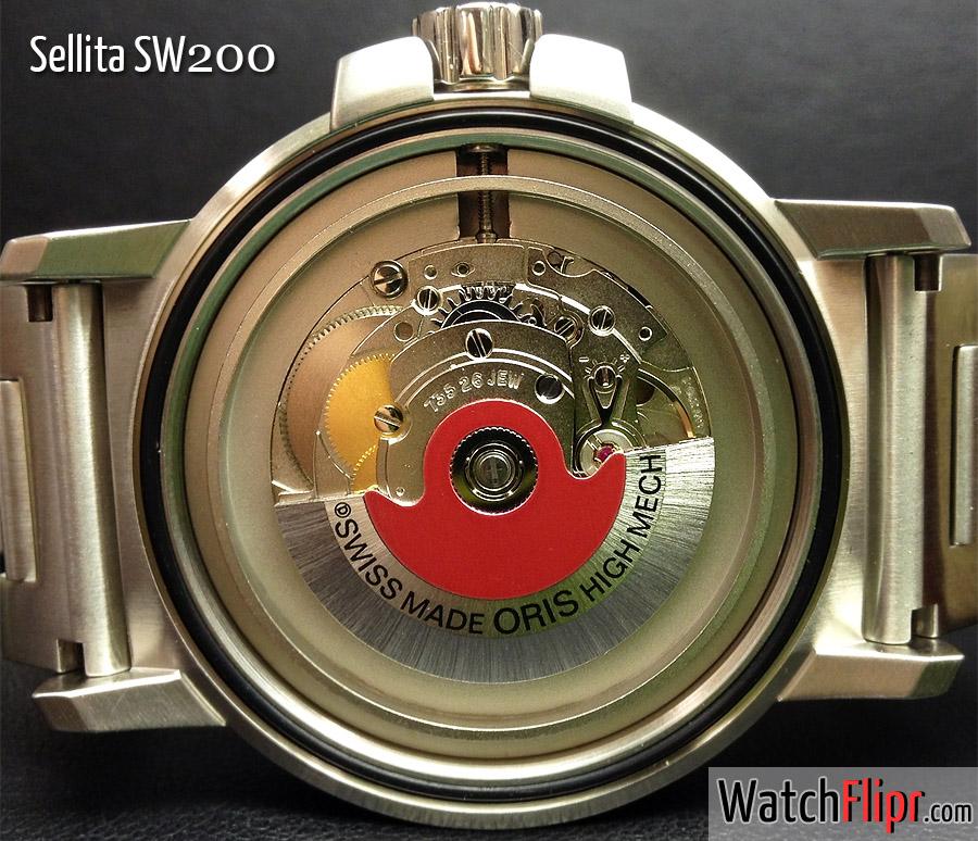 Sellita SW200 aka Oris 735