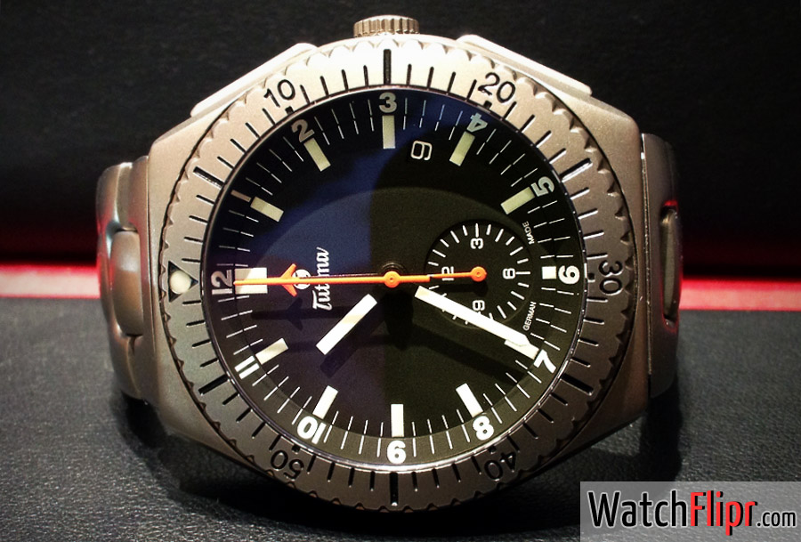 Tutima Military Commando II Chronograph 760-42 Watch Review