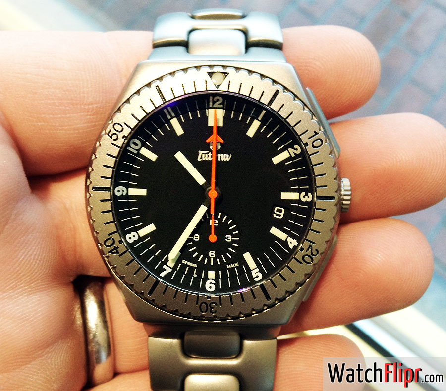Tutima Military Commando II Chronograph 760-42 Watch Review