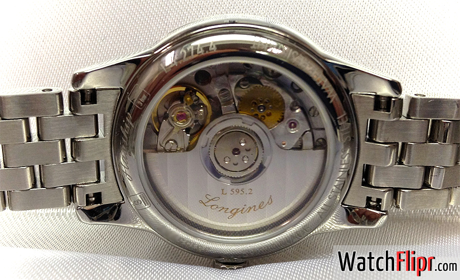 Longines LAdies Auto Caliber L 595.2 / ETA2000/1