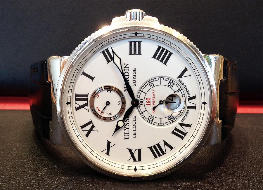 Ulysse Nardin Marine 269-65 Marine Chronometer 1846
