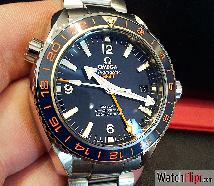 Omega GoodPlanet Planet Ocean GMT 232.30.44.22.03.001