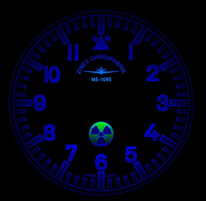 Zinex Uhrenfabrik ME-109S