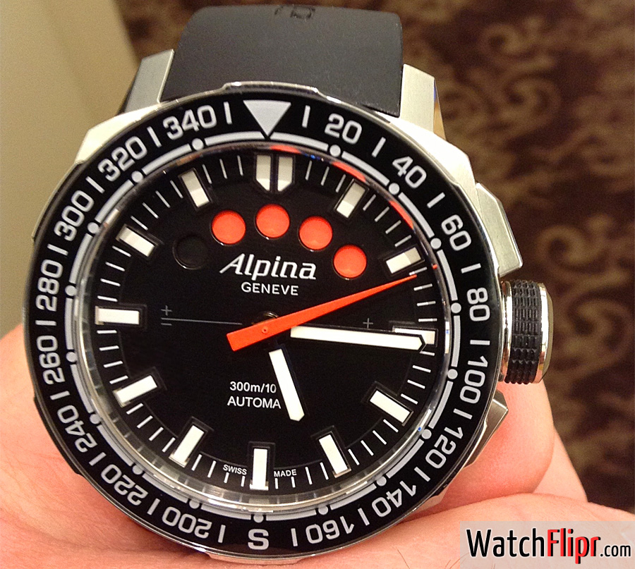 Alpina Adventure Extreme Regatta Yachtimer Men's Automatic Chronograph Watch AL-880LB4V6