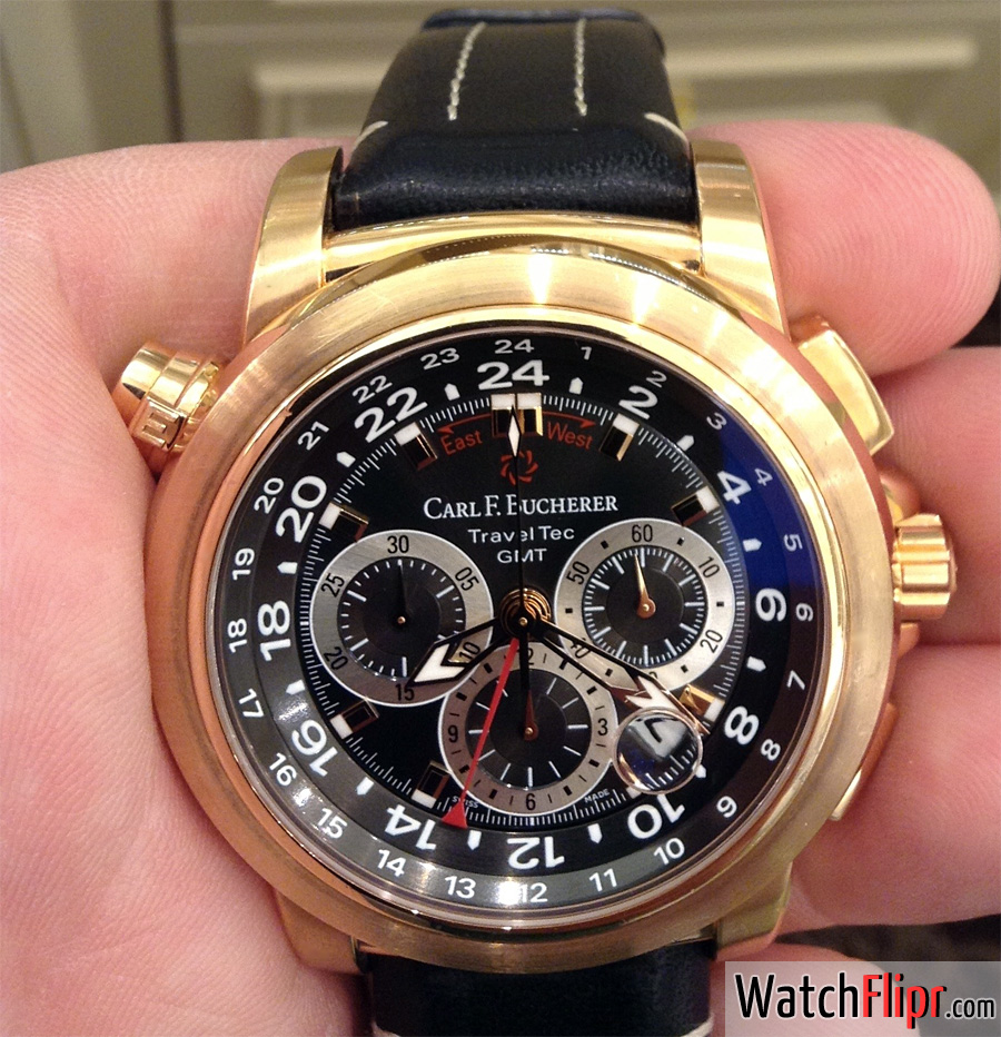 Carl F. Bucherer Travel Tech GMT 00.10620.03.33.01
