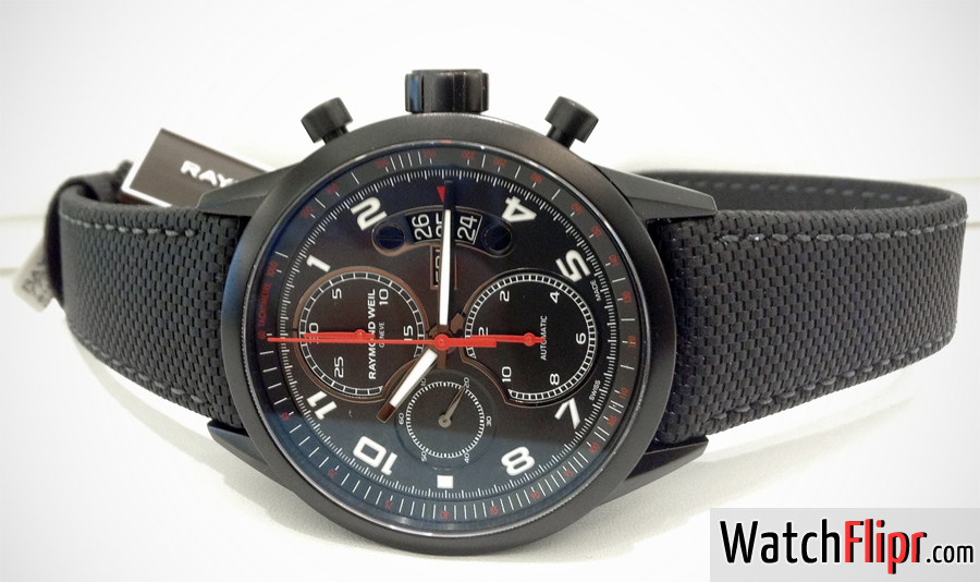 Freelancer Automatic chronograph Urban Black 7730-BK-05207