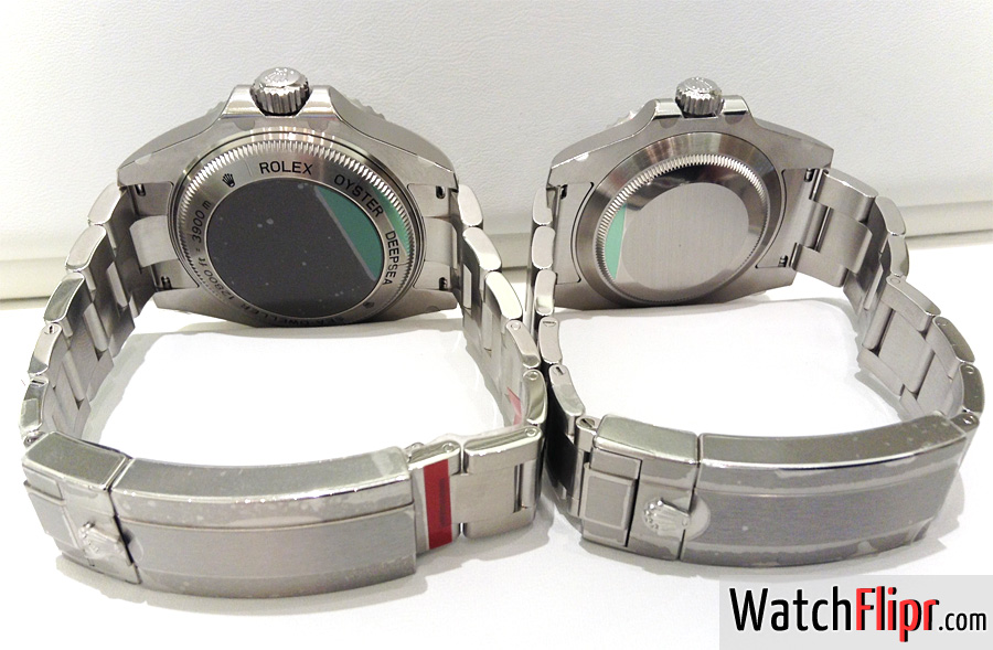 Bracelets Taper Vs. Traditional (Rolex Deepsea Vs
