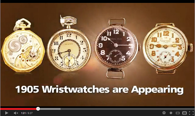 Tavannes Watch Co History Video
