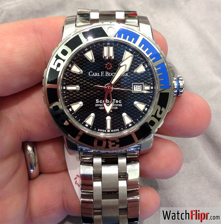 Carl F. Bucherer Scuba Tec Divers Watch
