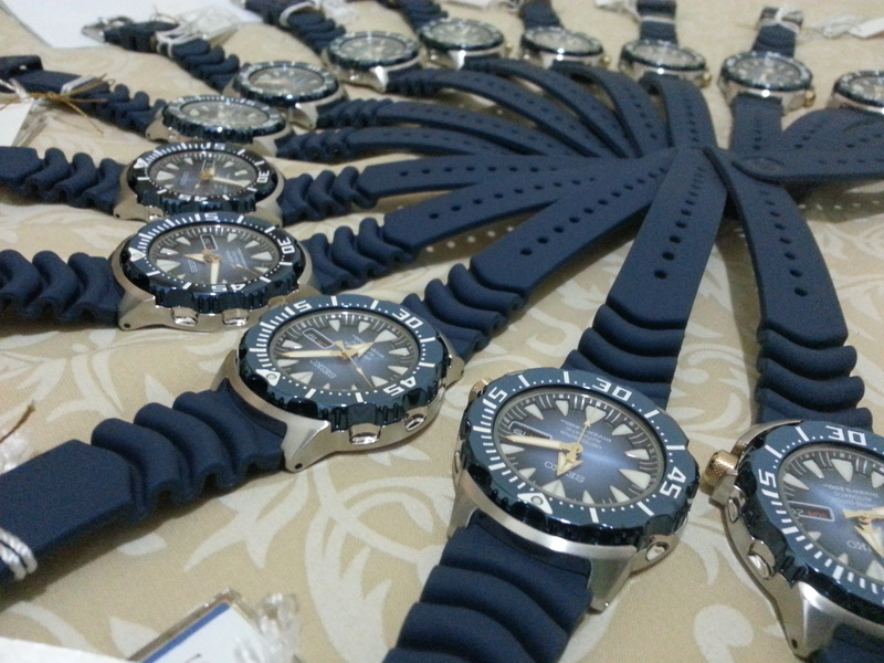 Seiko Blue Monster Limited Edition Sale