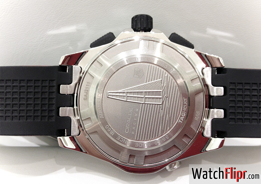 TAG Heuer Aquaracer Limited Edition Team USA CAJ2111.FT6036 Caseback