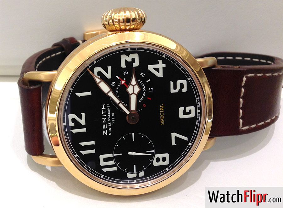 Zenith Special Type 20 Gold 18.2420.5011/21.C723