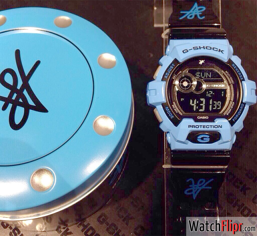 Blue G-Shock GLS-8900LV-2 Louis Vito