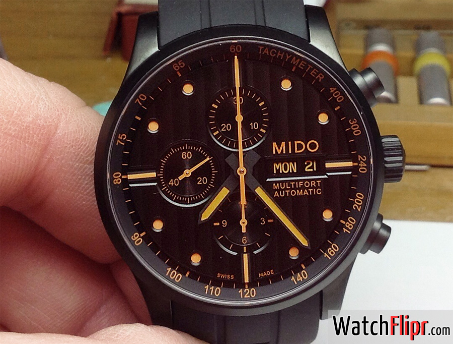 Mido still growing multifort automatic m005614a quick review watch flipr for Mido watches