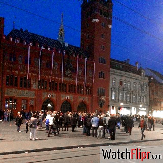 Basel Marktplatz Town Hall