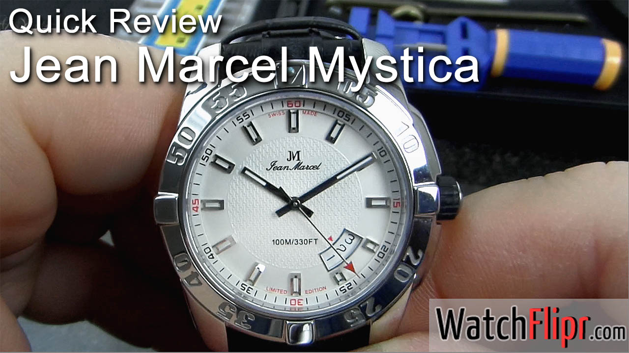 Jean Marcel Mystica Limited Edition Swiss Automatic Watch Review
