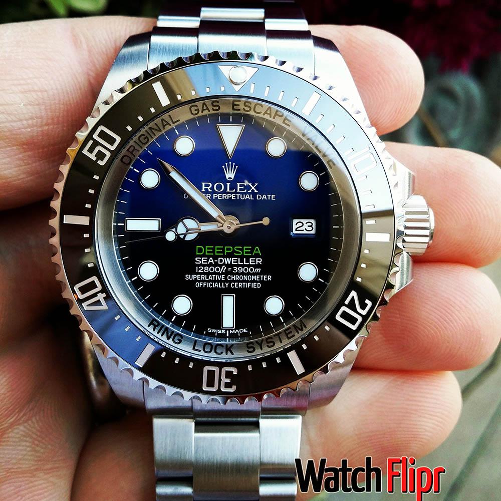 Rolex D-Blue DSSD 116660