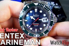 Kentex Marineman Seahorse Watch Review at WatchFlipr.com