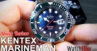 Kentex Marineman Seahorse Watch Review at WatchFlipr.com