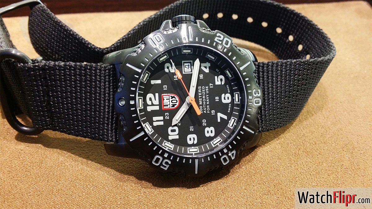 Luminox Authorized For Navy Use 4200 Sea ANU watch