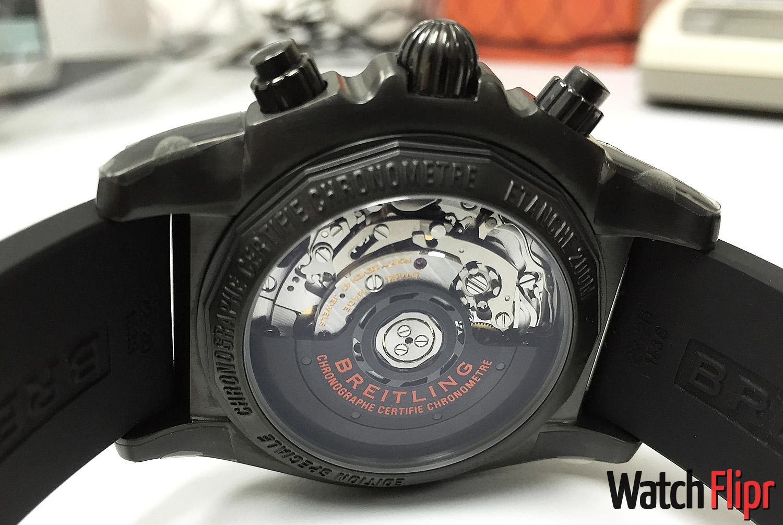 Breitling Chronomat 44 Raven Special Series Caliber B01