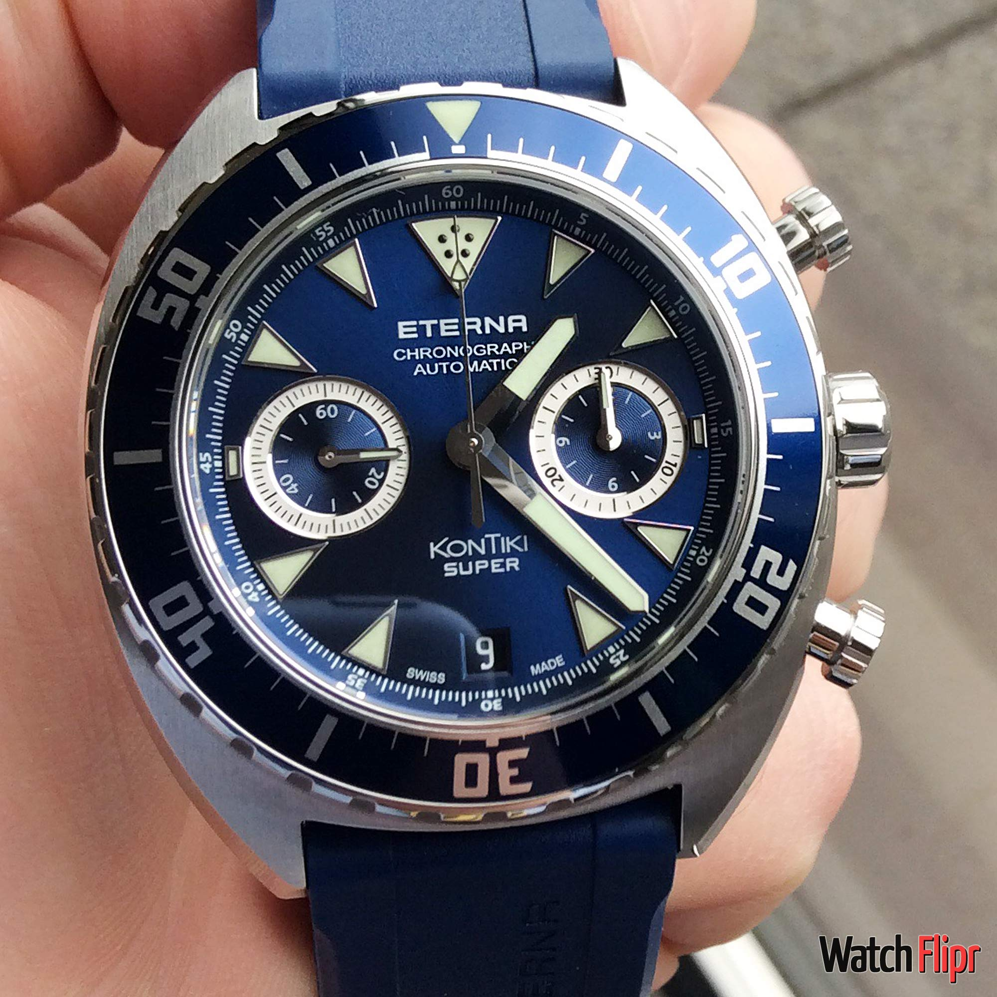 Eterna New Super KonTiki Chronograph In-House Watch Review